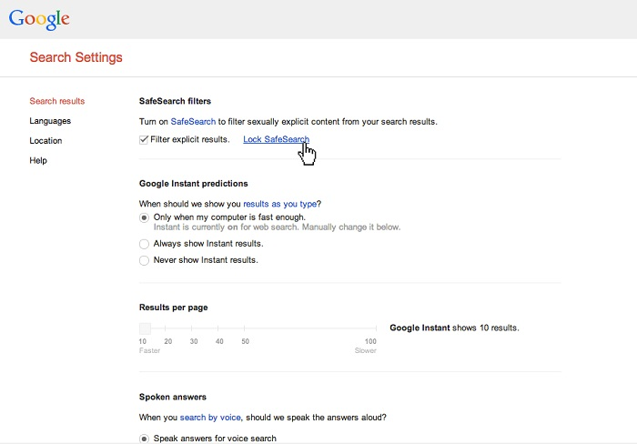 How to block porn sites google chrome